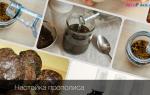 Настойка прополиса на спирту: способы приготовления и применения