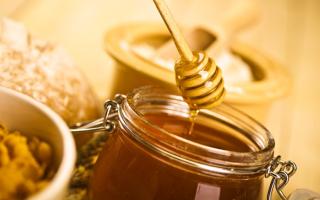 Пчелиный мед из нектара девясила