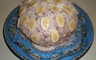 Торт «кудрявый мальчишка» в медовой вариации