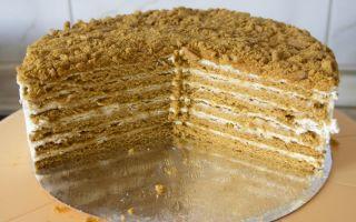Медовый торт «нежность» по классическому рецепту
