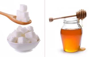 Что лучше – мед или сахар?