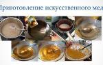 Как сделать искусственный мед
