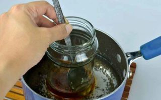Как растопить мед: доступные способы